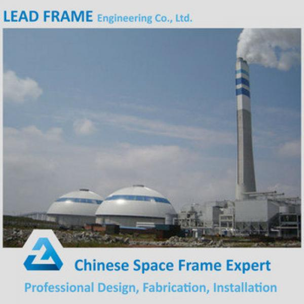 Steel space frame system coal storage shed #1 image
