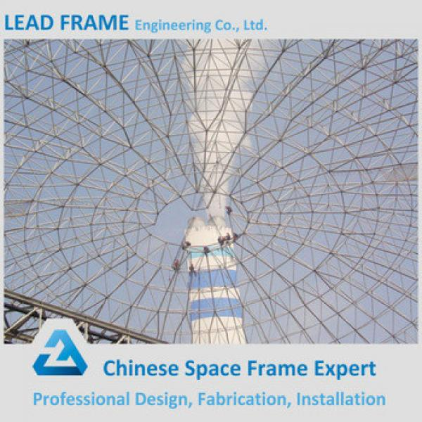 Steel Structure Dome Storage Building For Coal Fired Power Plant #1 image