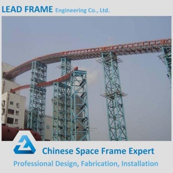 Professional Design Clear Roof Q235 Q345 Steel Frame Bridge #1 image