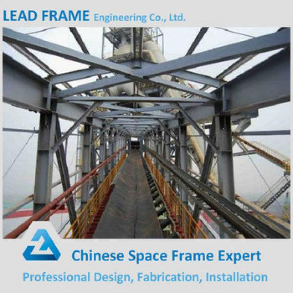 Galvanized Long Steel Trestle For Coal Storage #1 image