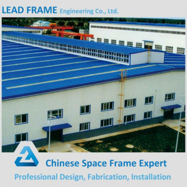 Light weight steel structure prefab warehouse from China #1 image