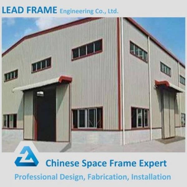 Portal frame steel structure warehouse in china #1 image