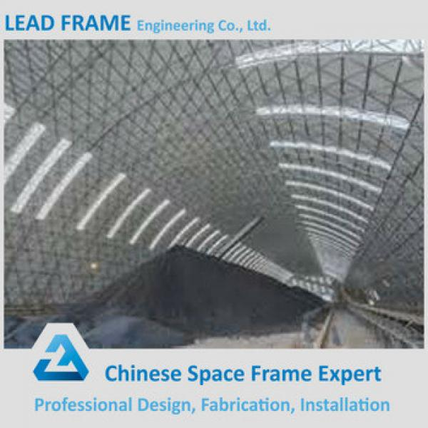 Arch Steel space Frame coal stockpile cover #1 image