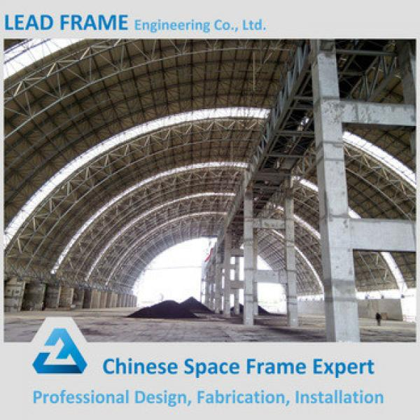 Arch Dry Coal Storage shed steel space frame roofing system #1 image