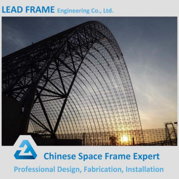 Prefabricated Light Gauge Space Frame Steel Vaulted Roof #1 image