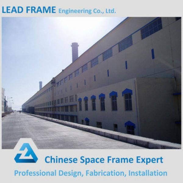 long span prefabricated steel construction factory building warehouse #1 image
