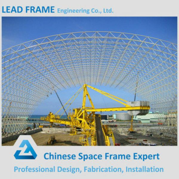 Arch Steel Structure Building Dry Coal Storage shed #1 image