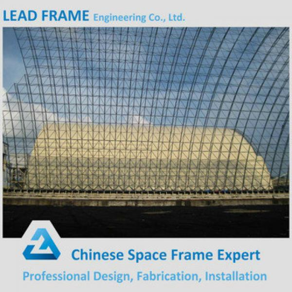 Steel Frame Coal Storage Shell Space Frame Arched Roof #1 image