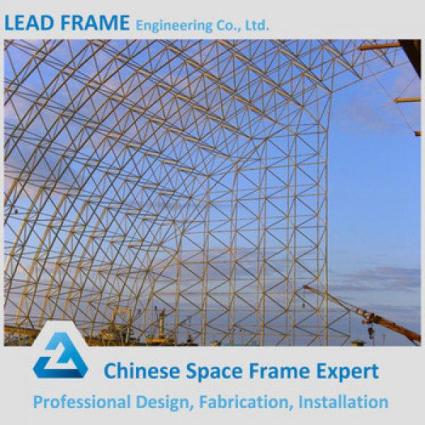 rigid construction design of space frame steel structure #1 image
