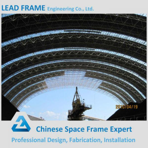 Low Cost Prefab Storage Shed Tube Space Frame With Roof Cover #1 image