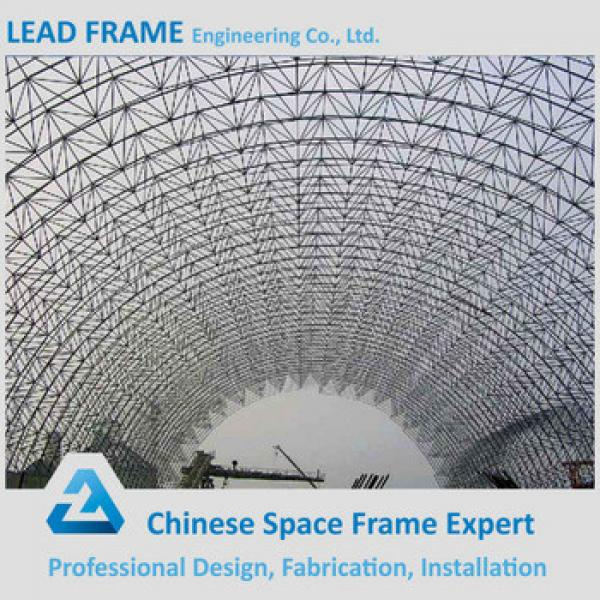 High quality steel structure quotation sample for barrel coal storage #1 image