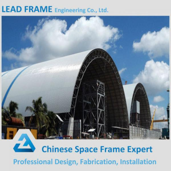 Prefabricated Steel Structure Long Span Roof for Storage Shed #1 image