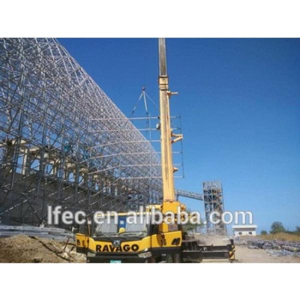 Prefab Light Steel Structure Space Frame Barre Shed #1 image