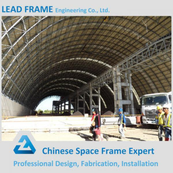 Arch Steel Coal Storage Space Frame In Philippines #1 image