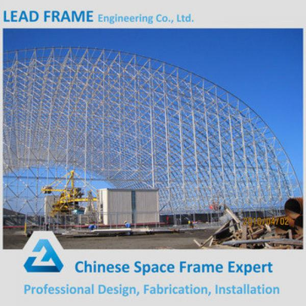 High Quality Barrel Storage Prefab Steel Structure Shed for Coal Power Plant #1 image
