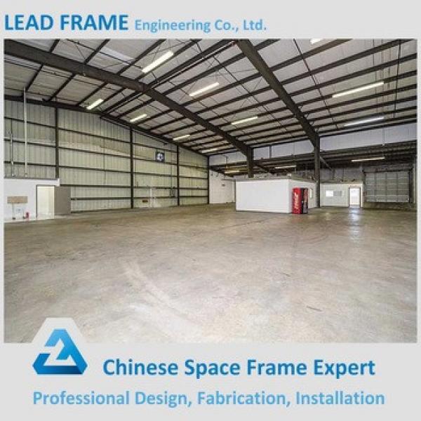 Prefabricated Customized Galvanized Construction Design Steel Structure Warehouse #1 image