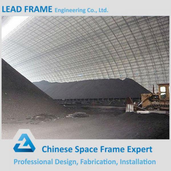 Prefabricated High Rise Steel Coal Storage 100 MW Power Plant #1 image