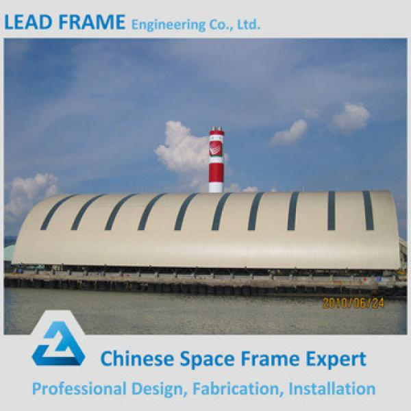 Space frame wind resistant canopy for coal power plant #1 image