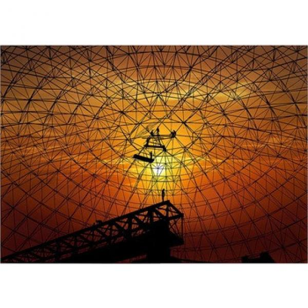 hot dip galvanized ball-joint space frame fireproof shed #1 image
