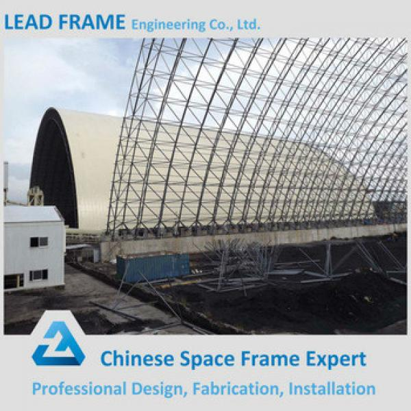 Economic Prefab Steel Roof Covering for Power Plant Coal Storage #1 image