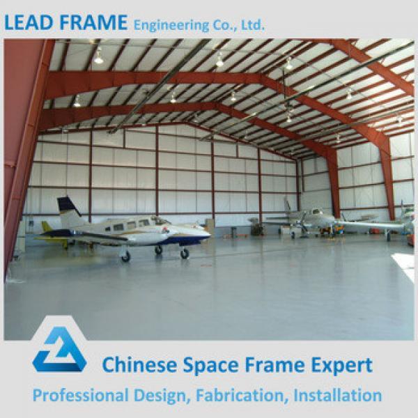 long span prefabricated airplane hangar #1 image