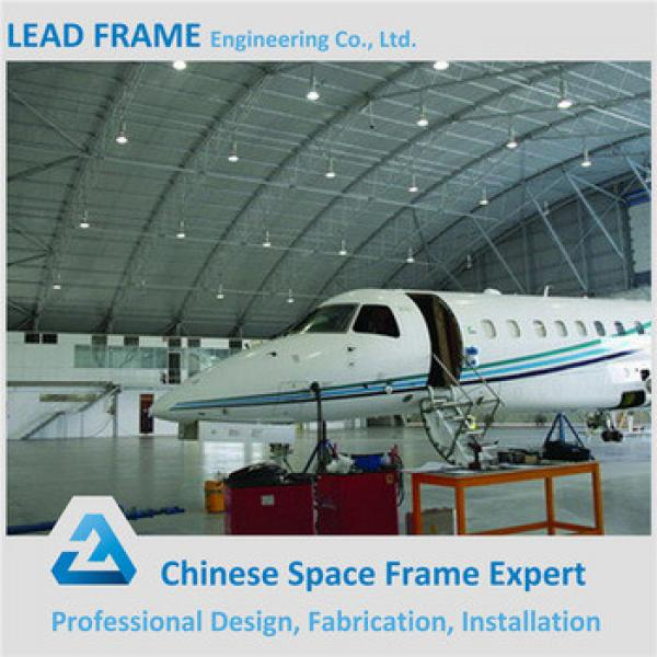 Prefabricated Space Frame Steel Hangar For Private #1 image