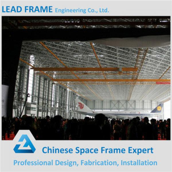 Moden Design Space Frame Building For Aircraft Hangar #1 image