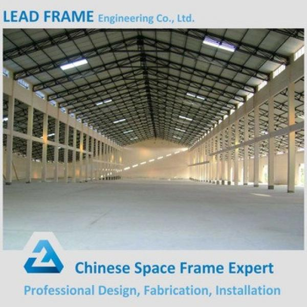 windproof steel structure space frame for warehouse #1 image