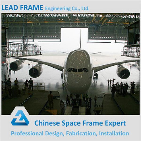 Low Cost Steel Frame Prefabricated Hangar #1 image