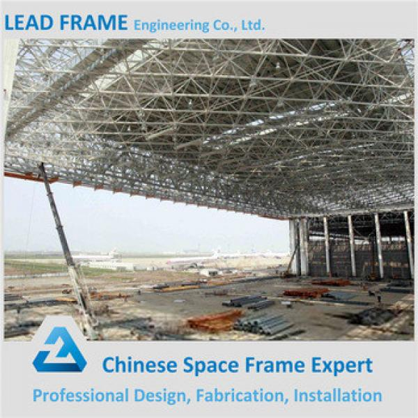Steel Space Frame Inflatable Hangar For Airplane #1 image