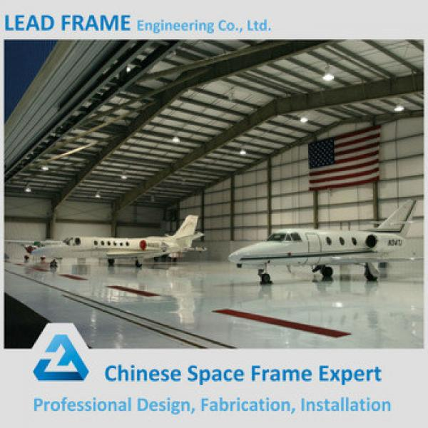 economical prefabricated aircraft hangar china construction company #1 image