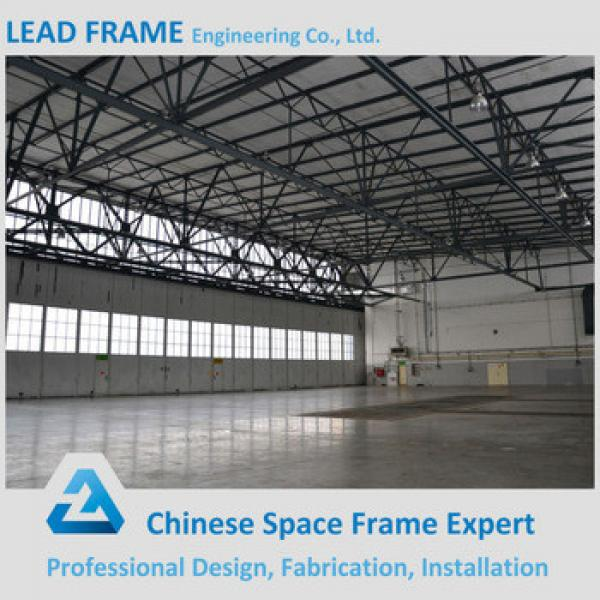 China supplier prefabricated standard steel arch hangar #1 image