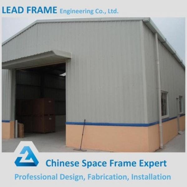 high standard prefabricated curved steel building warehouse #1 image