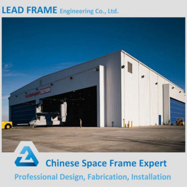 Light weight steel space frame prefabricated hangar #1 image