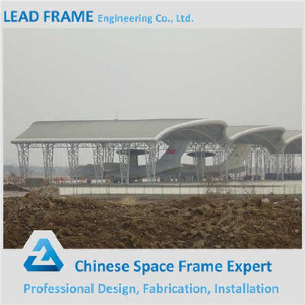 High Safe Steel Structure Hangar With Automatic Sliding Door #1 image