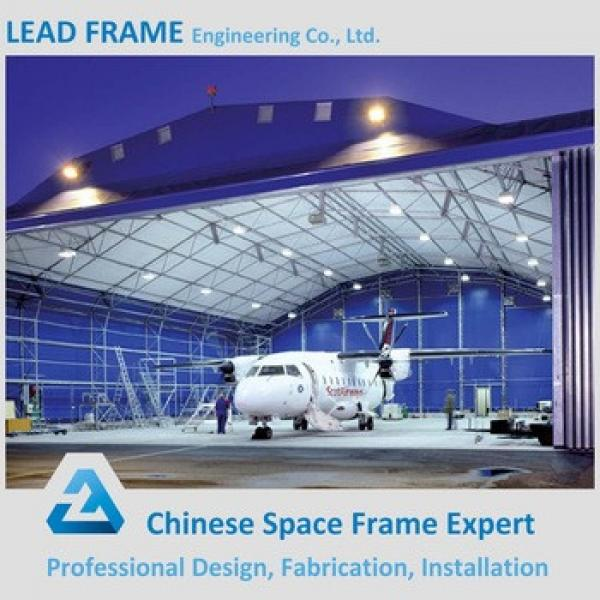 High Quality Galvanized Metal Roof Aircraft Hanger High Rise Steel #1 image