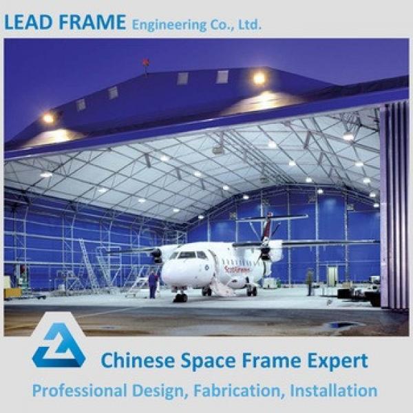 Prefabricated steel structure building hangar #1 image