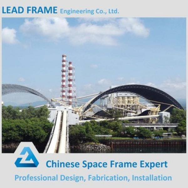 Prefab Truss Roof System Space Frame Structure for Industrial Shed #1 image