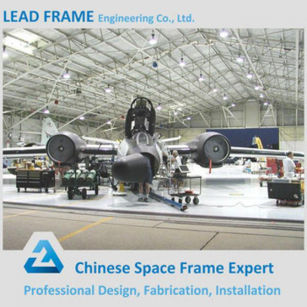 Modern Design High Rise Steel Structure Building for Aircraft Hanger #1 image