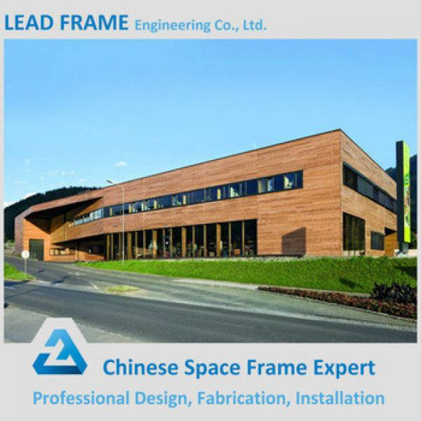 High quality prefabricated steel structure two story building warehouse #1 image