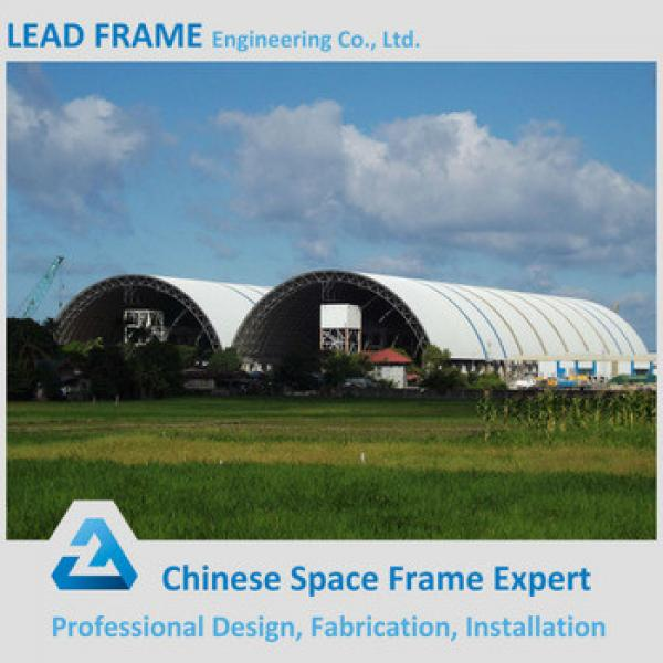 Coal-Fired Power Plant Steel Space Frame Structure Semicircular Roofing System #1 image