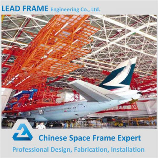 Structural Steel Space Frame Roof Hangar Sliding Door Made In China #1 image
