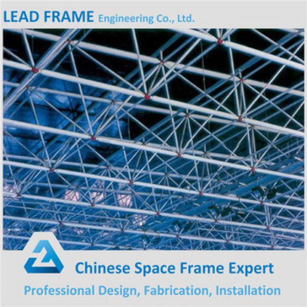 Light weight steel structure football stadium with metal roof #1 image