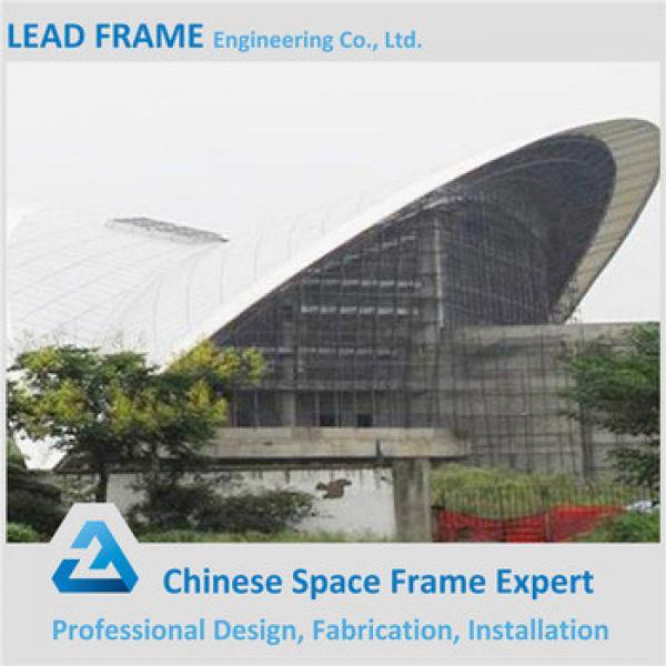 Storm-proof economical steel structure stadium roof #1 image