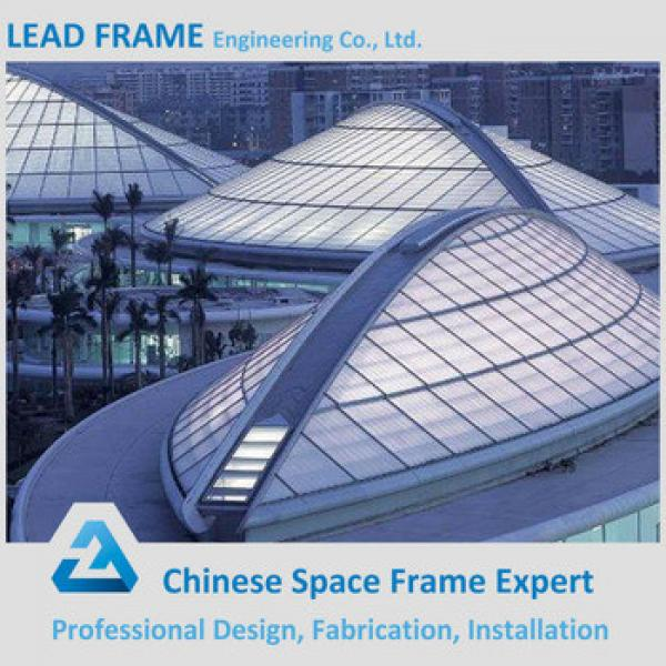 Economical steel frame structure basketball stadium #1 image