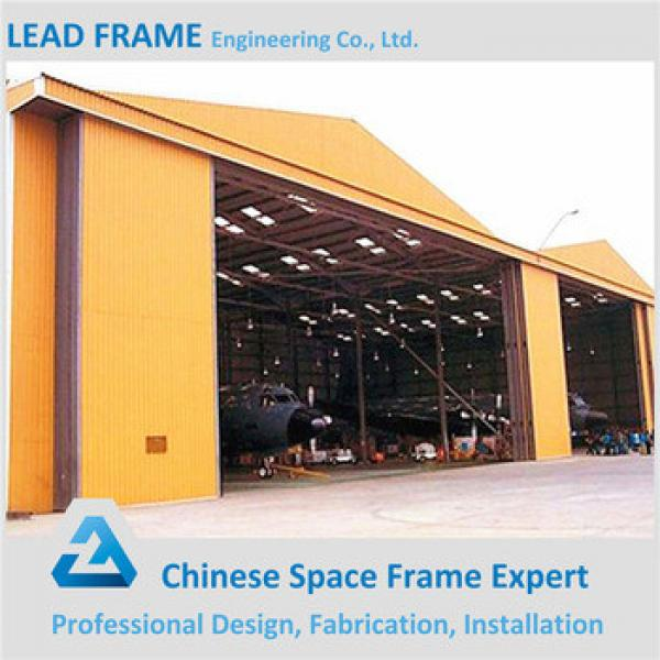 customized light steel structure type prefabricated arched hangar #1 image