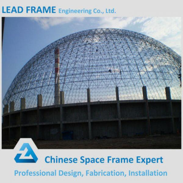 China Supplier Metal Frame Building Windproof Dome Shed #1 image