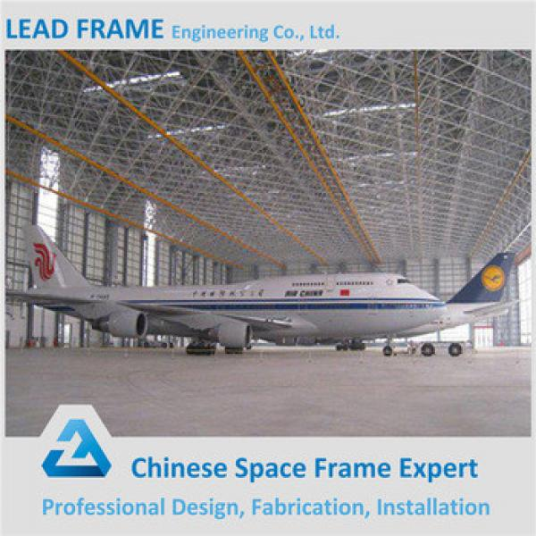Steel Structure Assembly Airplane Hangar #1 image