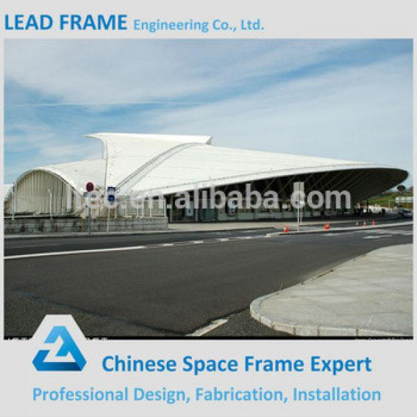 Space frame canopy prefabricated gym building #1 image