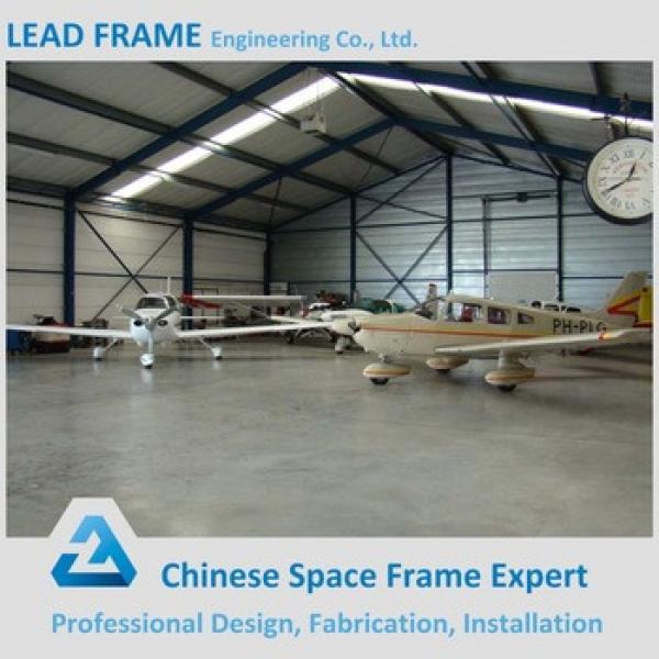 Prefab Construction Steel Structure Portable Aircraft Hangar #1 image